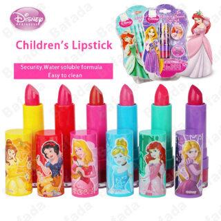 Đồ chơi cây son trang điểm in hình công chúa Disney Bafada được làm từ chất liệu an toàn và hòa tan trong nước dành cho bé gái - INTL thumbnail