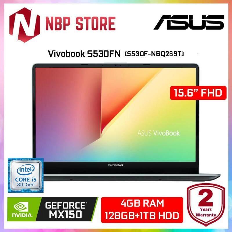 Asus Vivobook S530F-NBQ269T 15.6  FHD Laptop Firmament Green (i5-8265U, 4GB, 1TB+128GB, MX150 2GB, W10) Malaysia