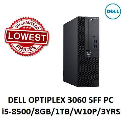Dell OptiPlex 3060 (i5-8500, 1TB, 8GB, Integrated, W10P)  Opt3060SFF-i5508G1TB-W10 Small Form Factor SFF Desktop PC