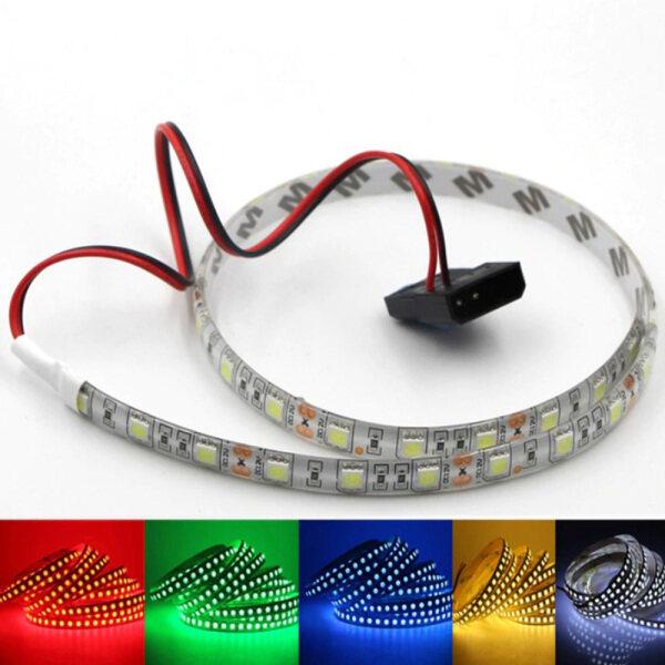 Bảng giá 1 Dây Đèn LED Đèn Dây Linh Hoạt 30/50/100Cm Cho Vỏ Máy Tính PC DC 12V 2835 SMD