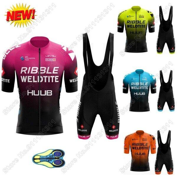 Mua Team Bộ Áo Đấu Đạp Xe Ribble Weldtite Trang Phục Đạp Xe Huub Mùa Hè 2021 Bộ Đồ Đạp Xe Đường Trường Cho Nam Áo Đạp Xe Quần Đùi Có Yếm Đi Xe Đạp Leo Núi