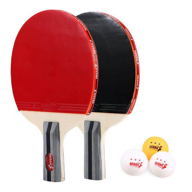 Table Tennis Bags b@p Best Quality Racket Ping Pong Paddle Set Rackets And 3 Balls With Cover Bag For 2 Players
