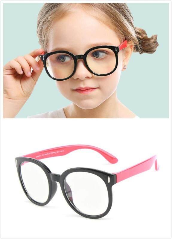 Giá bán Kính chống ánh sáng xanh cho trẻ em Kính Mắt vuông cho bé trai bé gái máy tính Blue Ray Kính mắt trẻ em Kính mắt trẻ em UV400
