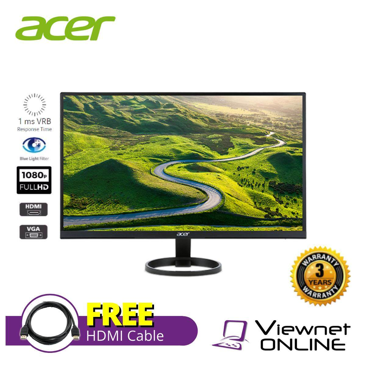 ACER R221Q 21.5 IPS LED LCD MONITOR (D-SUB,DVI-D,HDMI) Malaysia