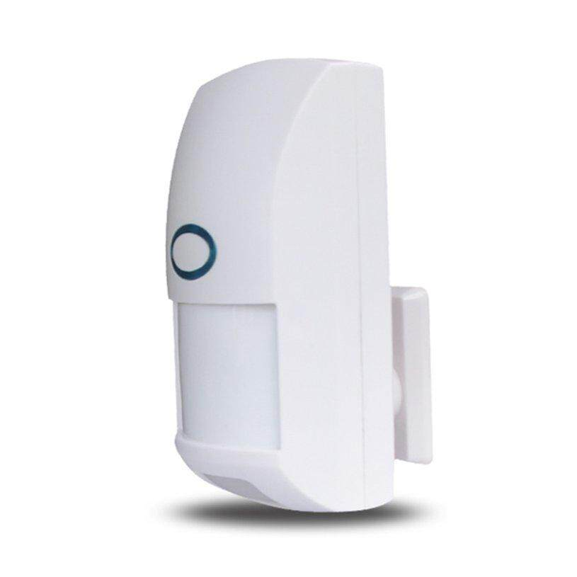 XIN Mini Portable Wireless 433MHZ Home Security Pet Immune Motion PIR Sensor Dual Infrared Detector For Alarm System