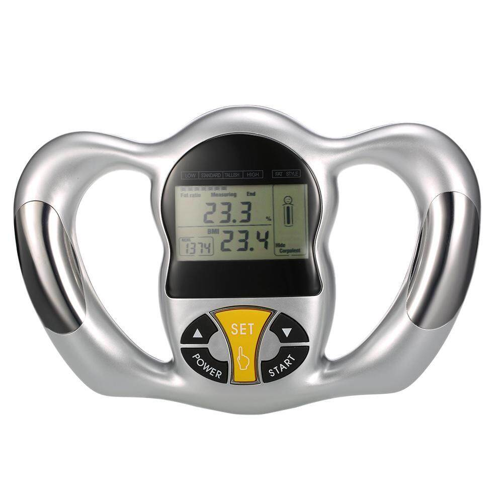 Digital Body Fat Monitor Body Fat Meter Measurement With LCD Screen Handheld Health Analyzer BMI Tester Home Use Tool