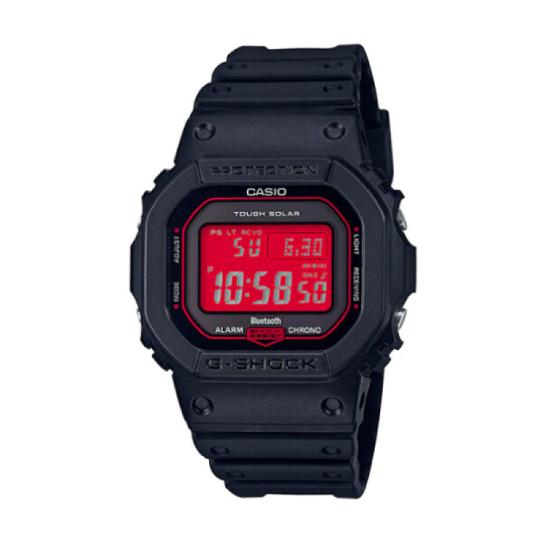 (hot) New Arrival G Shock GW B5600 Lineup Special Color Models Black Resin Band Watch GWB5600AR 1D GW B5600AR 1D GW B5600AR 200M Water Resistant Shockproof and Waterproof World Time LED Auto Light Wist Sports Watches with 2 Year Warranty Malaysia