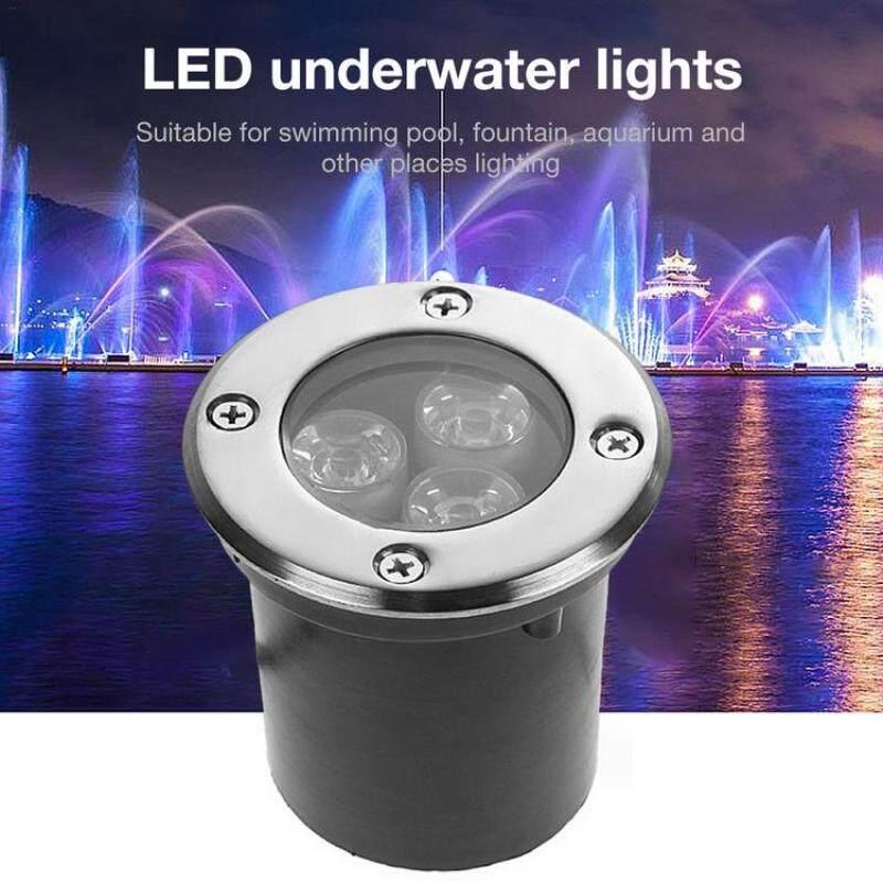 Đèn Dưới Nước LED Đèn Pha Chống Nước RGB Chống Ăn Mòn Cho Đài Phun Nước Bể Cá 12V