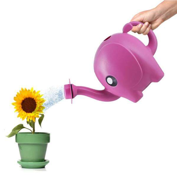 Plastic Watering Can Long Spout Water Kettle for Plants Flower
