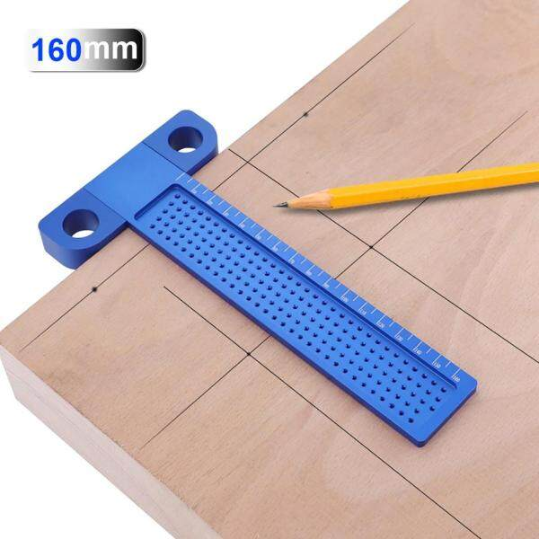 VIPT Ruler 160mm Hole Positioning Marking Gauge Metric Scriber Woodworking Tools