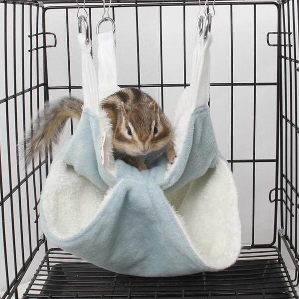 Ổ Chuột Hamster Nhỏ Hình Động Vật Nhỏ Dễ Thương Võng Ngủ Ấm Áp, Cabin Gỗ Ngủ Cho Thú Cưng Nhím Thỏ Nhà Ngủ Cho Động Vật Đồ Chơi Cung Cấp