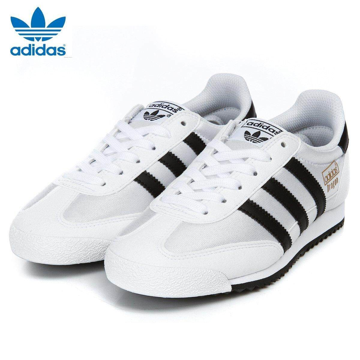 588e33c90f7fb8 Adidas Unisex Originals Dragon vantage Casual shoes BB1270 white Black