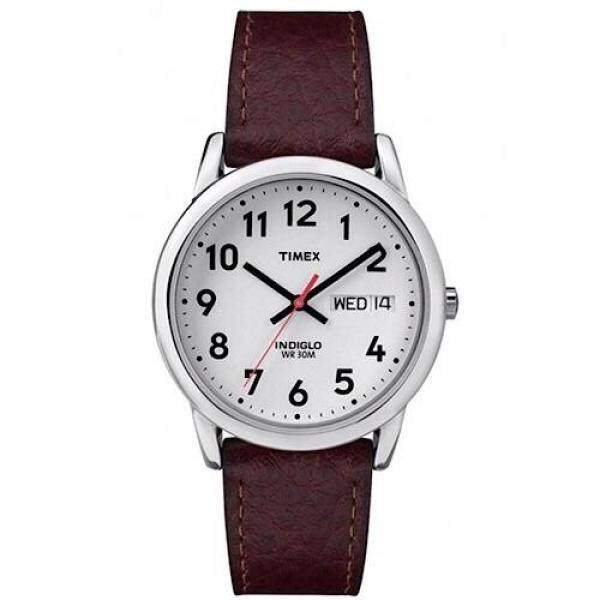 Timex Easy Reader Day Date Leather Strap Watch ,35mm - T20041 Malaysia