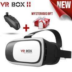 Bộ Kính 3D Thực Tế Ảo VR Box Phiên Bản 2.0 Cho Đồng Hồ Thông Minh Kiêm Điện Thoại Video Phim & Chơi Game