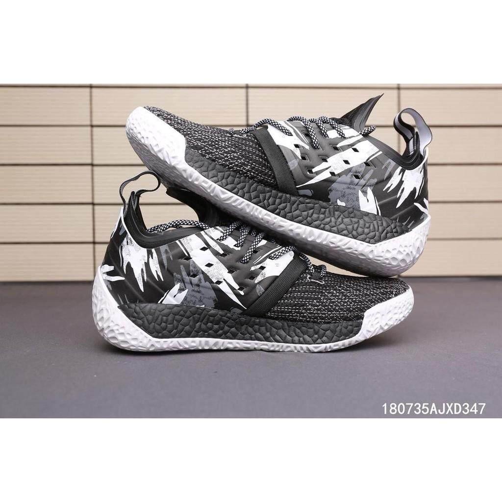 Adidas Mengeras VOL.2 Pria Tenun Leisure Sepatu Basket