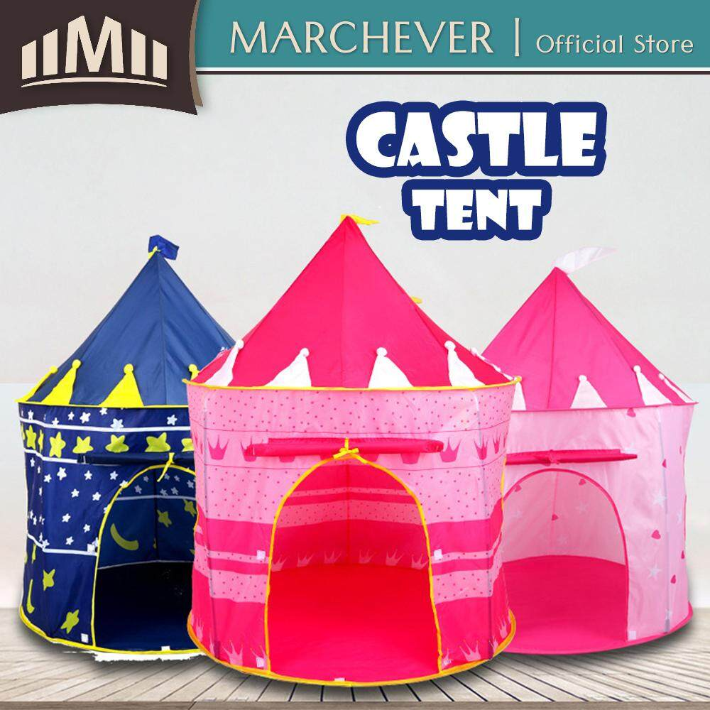 detailed look a2850 66b4c Kids Play Tent Children Castle Tent Baby Play House Cubby House Toy toys  for girls