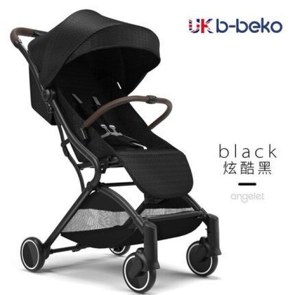 British B-Beko Aluminum Alloy Baby Stroller Light Folding Lightweight Baby Cart Four-Wheel Baby Carriage Buggy 0-3Years Old Singapore