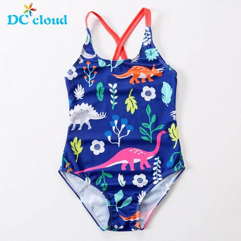 85e678f8aa4ec 3~8Y Girls Swimwear New 2019 Girl swimsuit one piece Children Swimsuit Kids  Tankini Bathing
