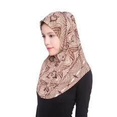 【Muslim】Auburyshop ผู้หญิงมุสลิมด้านใน Hijab Headscarf หมวกอิสลามคลุมทั้งหมดอิสลาม Hat【Reference ขนาด chart】