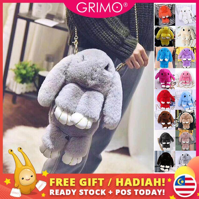 17338934be3e GRIMO Malaysia - Rabbit Toy Sling Bag Shoulder Handbag Beg Tangan Ladies  Bags Cute Women Ladies April 2019 Women Lady Perempuan Gift Hadiah for  Ladies ...