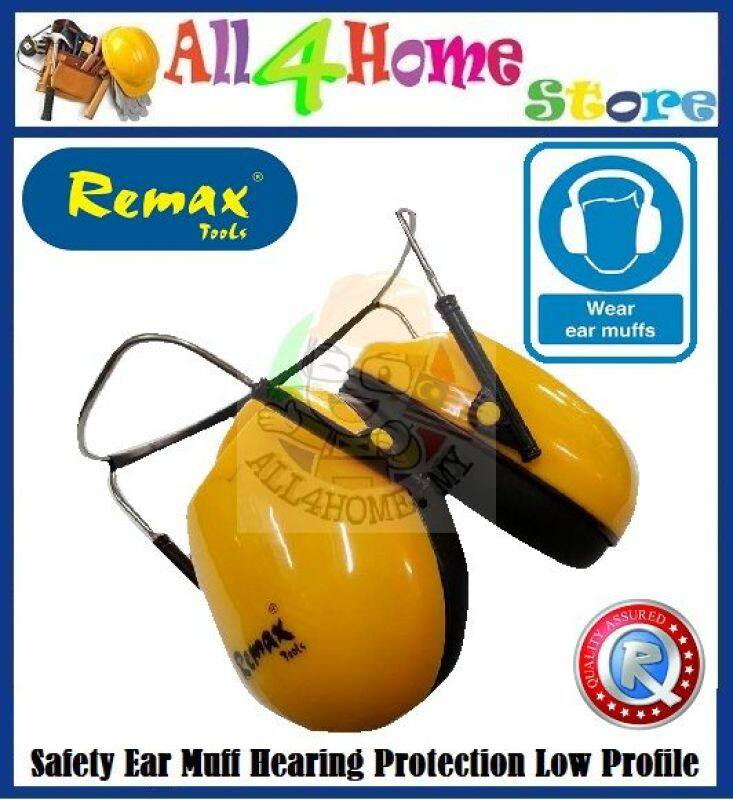 (Local Seller)99-UM210 REMAX Safety Ear Muff Hearing Protection Low Profile Ear Muff