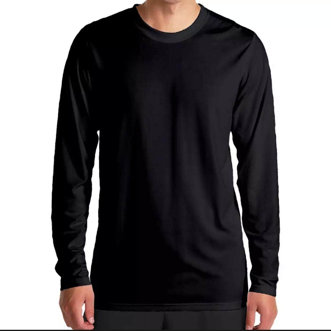 d6ff6c4bee69f Limited Edition Plain MICROFIBRE Long Sleeve T-Shirt for Men and Women