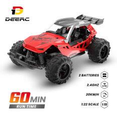 Holy Stone & deerc Xe đua đồ chơi điều khiển từ xa 2.4GHz 4WD vượt địa hình tỉ lệ 1/22 tốc độc chạy siêu nhanh 20km/h. Quà tặng ý nghĩa cho bé trai