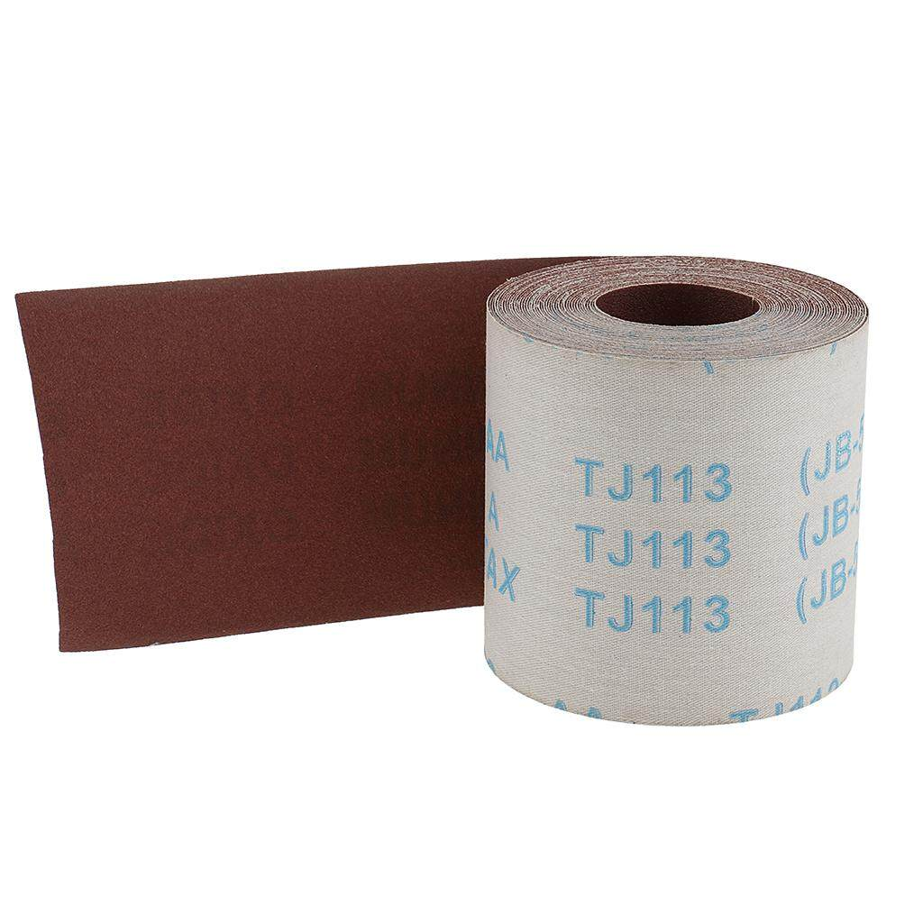 Dolity 11 Yards 3.84inch Emery Cloth Roll 180 Grit Waterproof Sandpaper for Cleaning Copper Pipe and Fittings DIY Tools
