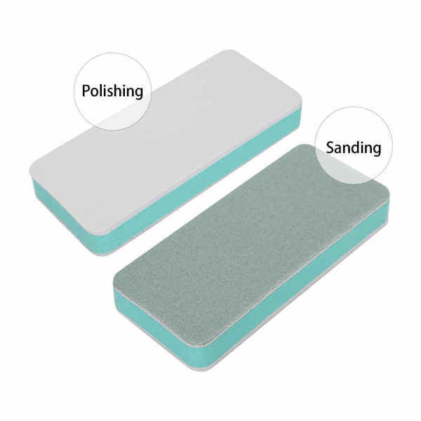 Metal surface polishing plate tools watch accessories strap double-sided matte Sandpaper Bar Pad Brush Malaysia
