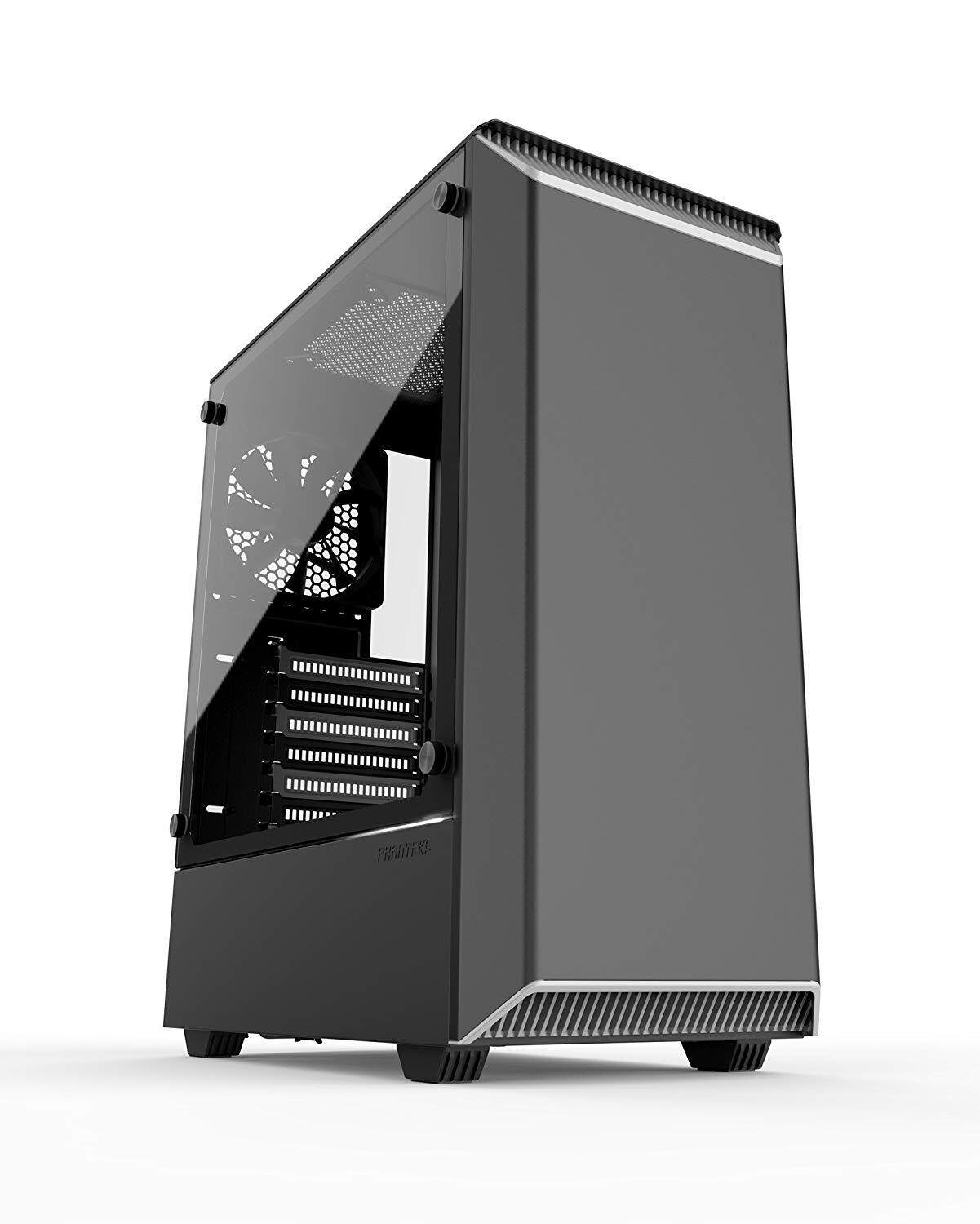 PHANTEKS ESCLIPSE P300 RGB TEMPERED GLASS BLACK/WHITE CHASSIS Malaysia