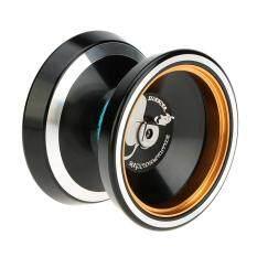 Professional Magic Yoyo M001 Hợp Kim Nhôm Yo-yo Máy Tiện CNC T Mang Với Chuỗi Kéo Sợi Cho Bé Trai Bé Gái Trẻ Em Màu Đen