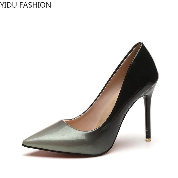 6d0b7ad7204c European and American new nude pointed super high-heeled shoes 10cm thin-heeled  sexy
