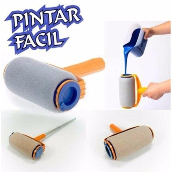 Non-Drip Magic Paint Roller (easy to use & clean) MADE PAINTING SO EASY