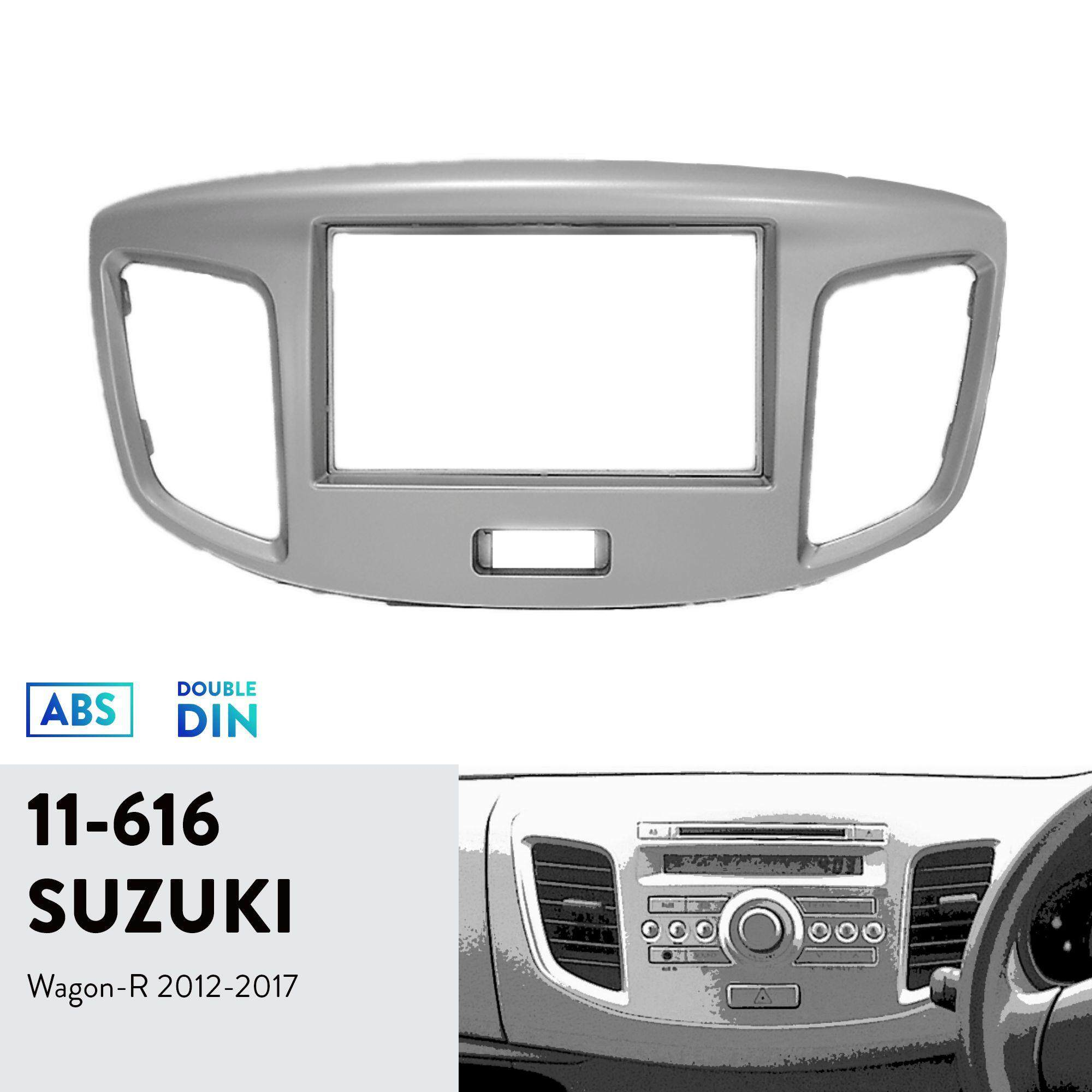 Ugar 11-616 Trim Fascia Car Radio Installation Mounting Kit For Suzuki Wagon-R 2012-2017 By Ugar.