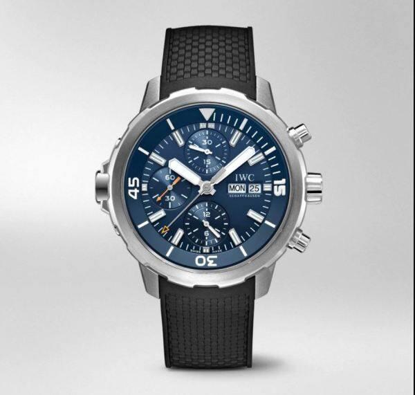 GK814 HBBv6 IWC_Aquatimer Chronograph IW376805 SS Blue Dial Swiss 7750 Malaysia