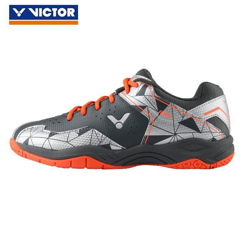 2019 Baru Asli Victor Merek Profesional Sepatu Bulu Tangkis Pria Wanita  Sepatu Kets Olahraga untuk Indoor d835b97a4b