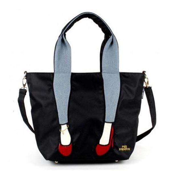Miszapatos nylon single shoulder diagonal spanning large capacity waterproof ladies bag leisure 100 sets