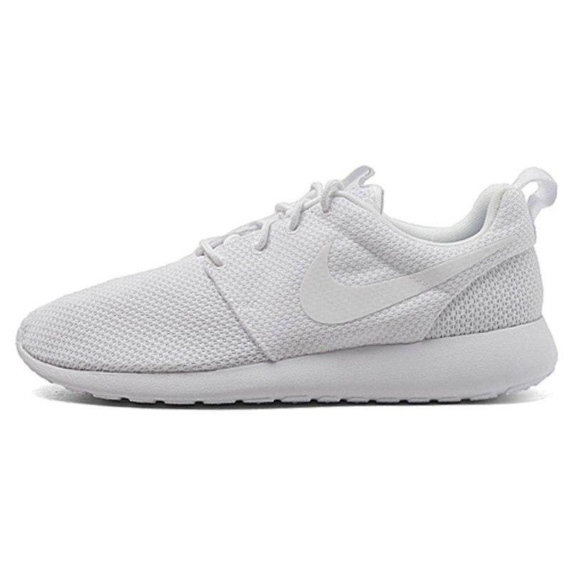 Original New Arrival Authentic NIKE ROSHE RUN Men s Breathable Running  Shoes Sport Outdoor Sneakers Good Quality f37f2950f