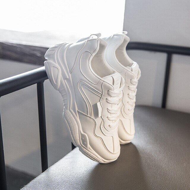 Bảng giá Giày Nữ 2020 Giày Thể Thao Mới Chunky Cho Nữ Giày Lưu Hóa Thời Trang Giản Dị Giày Cho Các Ông Bố Giày Sneaker Kiểu Dáng Chắc Chắn Giỏ Nữ Krasovki