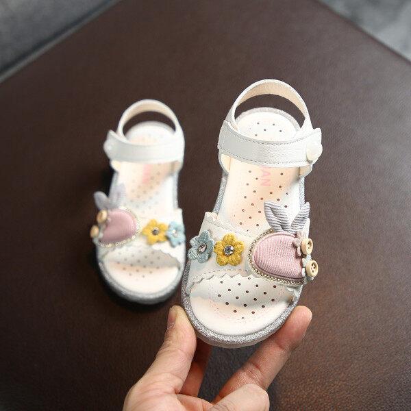 Giá bán (GEJ) giày bé gái giày cho bé gái giày em bé gái Giày cho trẻ em Trẻ Em Trẻ Sơ Sinh Bé Gái Dễ Thương Thỏ Mềm Công Chúa Giày Bãi Biển Dép