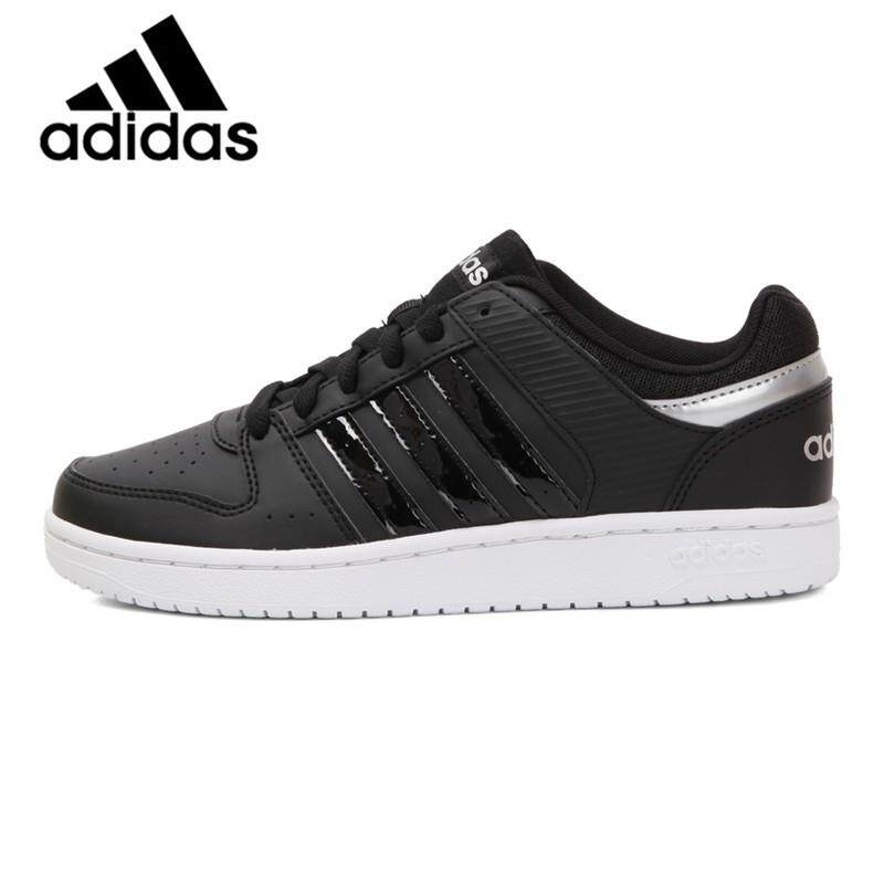 854377d2 Original Authentic Adidas Neo Label Hoops Women S Skateboarding Shoes  Sneakers Hard-wearing Shoes Adidas