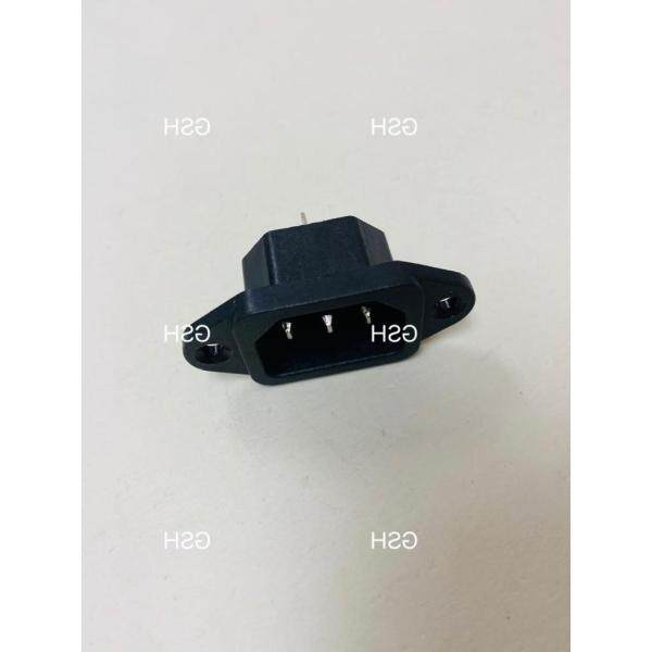 ℗▥◄  JR2802 IEC 320 C14 Male Plug Panel AC 250V 10A Power Inlet Sockets(RICE COOKER)