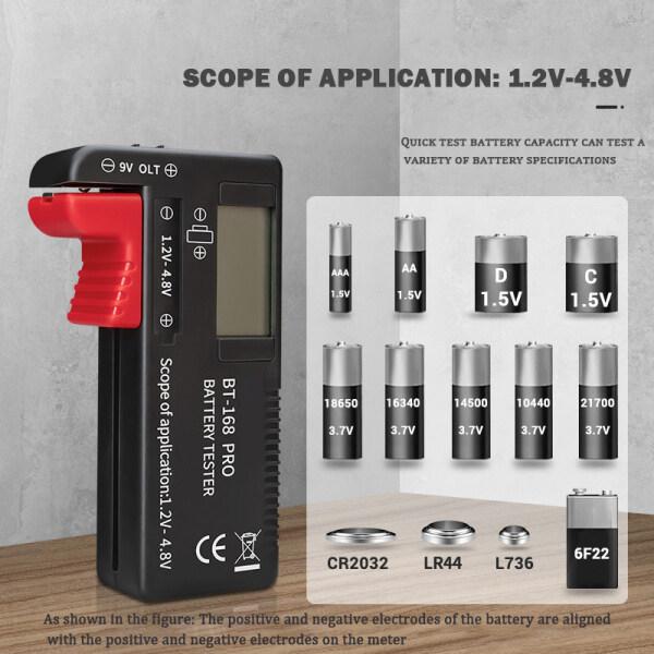 Bảng giá BT-168 Máy Kiểm Tra Điện Dung Pin Lithium Por Digitale Geruite Belasting Phân Tích Kiểm Tra Đa Năng Điều Khiển Màn Hình Knoopcel