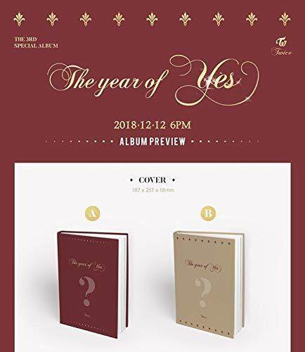 [JYP] Twice - The Year of Yes [A ver.] (3rd Special Album) Album + Pre-Order Benefit + 1 Folded Poster + Store gift - kpop