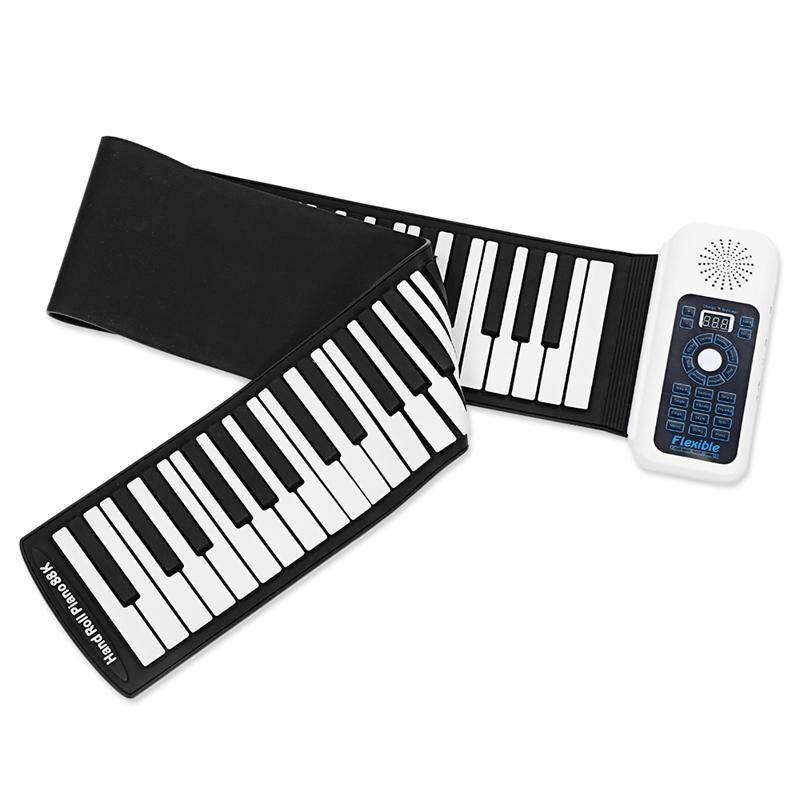 New 88 Keys Universal Flexible Roll Up Soft Keyboard Piano for guitar players Malaysia