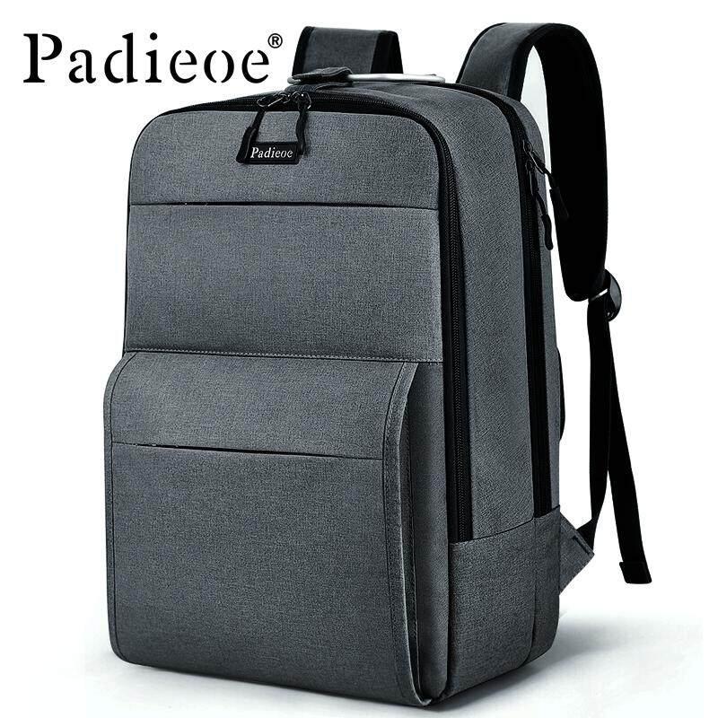 188ddc89a92 Padieoe Luxury Genuine Leather Backpack Korean Backpack School Student Backpack  Large High Quality Unisex Capacity Bag