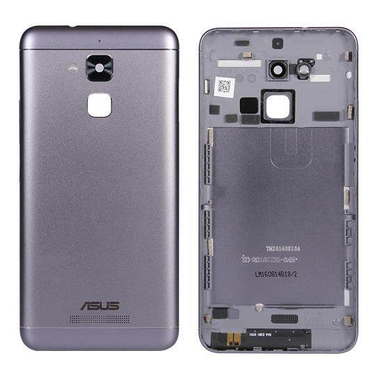 For Zenfone 3 Max ZC520TL X008D Back Cover Housing Door With Camera Len  Side Button Replacement Parts 5 2 inch