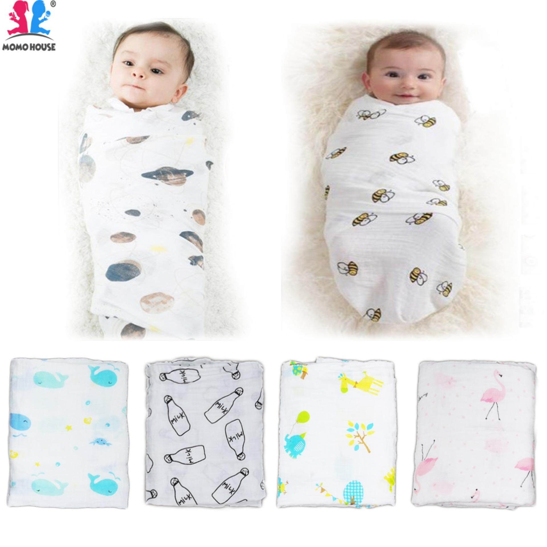 Boys' Baby Clothing Supply 3-6m Newborn Infant Baby Boy Girl Cartoon Monkey Print Cotton Swaddle Sleeping Bag Wrap Blanket Baby Clothes Accessories Mother & Kids