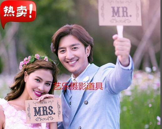 New Style Studio Photographic Prop Exterior Filming Couples Carrying Plate of Plate Wedding Photographic Prop Plate