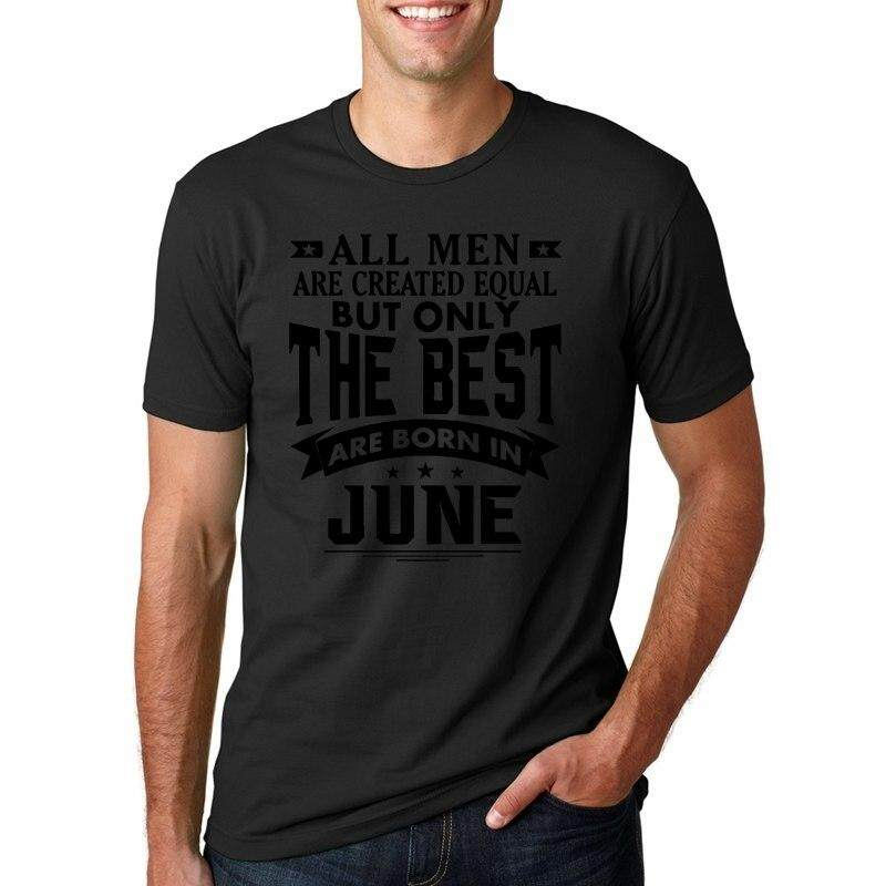 6c663015 Lehu T-Shirt All Men are Created Equal But Only The Best are Born in